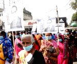 Nagrik Adhikar Manch's protest on Constitution Day