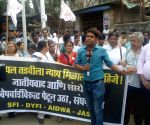 Maharashtra students protest against medico's suicide