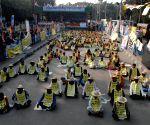 TMC Khet Mazdoor Union protests against CAA-NRC-NPR