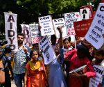 Demonstration against Rewari gang-rape