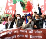 Social activists, political parties come in support of farmers' movement, protest against Central Govt's Farm laws