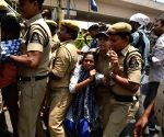Police thwarts demonstration for the release of Varavara Rao, Saibaba