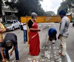 Free Photo:  Activists to extend pothole pooja campaign across Bengaluru to protest pathetic roads