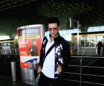 Aamir Ali seen at Mumbai Airport