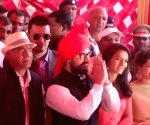 Aamir Khan at wedding ceremony of wrestler Geeta Phogat
