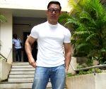 Aamir Khan celebrates Eid-al-Fitr