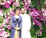 Akash, Shloka wedding festivities - Aamir Khan and Kiran Rao