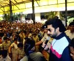 Abhishek Bachchan at Magadh Mahila College