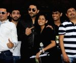 Abhishek Bachchan promotes film All Is Well at the college festival Umang
