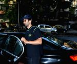 Aditya Roy Kapoor seen at Vishesh films office
