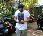 Aditya Roy Kapur seen at Bandra