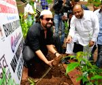 Aijaz Khan plants sapling on the occasion Van Mahotsav Week