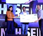 Akshay Kumar during start up carnival at IIT Delhi