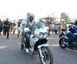 Akshay at Ride for Safety rally