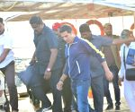 Akshay Kumar seen at Versova Jetty