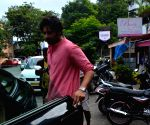 Ali Fazal seen at Mumbai's Bandra