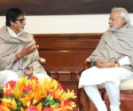 Amitabh Bachchan calls on PM Modi