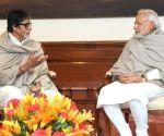 Amitabh Bachchan calls on PM Modi