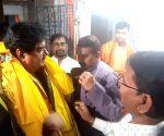 Shatrughan Sinha visits Kayastha Chitragupta Temple