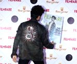 Kartik Aaryan at the launch of Filmfare cover