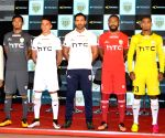 John Abraham launches North East United Football Club's jersey