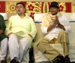 Mithun Chakraborty inaugurates Ekdalia Evergreen Club Durga Puja
