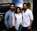 "Special screening of film ""Soorma"" - Angad Bedi, Zaheer Khan and Sagarika Ghatge"