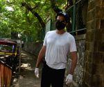Anil Kapoor seen in Juhu