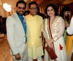 Celebrities at Haldi ceremony of son of Customs Officer Deepak Pandit