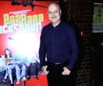 """Actor Anupam Kher at the music launch of his upcoming film """"Baa Baa Black Sheep"""" in Mumbai on March 1, 2018."""