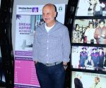 Anupam Kher, Subhash Ghai during a programme