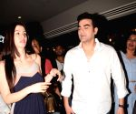 """Special screening of film """"Jack and Dil"""" - Arbaaz Khan and Giorgia Andriani"""