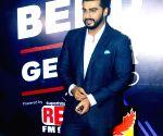 Arjun Kapoor at a radio station