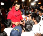 Arjun Kapoor celebrates World Rose Day with Cancer patients