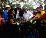 Arjun Kapoor flags off beach clean-up drive