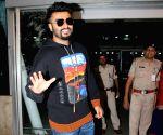 Arjun Kapoor seen at Mumbai Airport