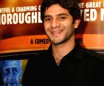 "Actor Arjun Mathur at the special screening of film ""Barah Aana"" , in New Delhi on Tuesday 17 March 2009."
