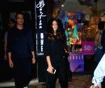Arjun Rampal and Gabriella Demetriades seen at Mumbai's Bandra