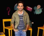 Ayushman Khurana on the set of Disneys Chat Show Captain Tiao
