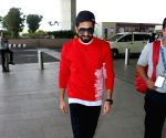 Ayushmann Khurrana seen at airport