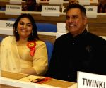: New Delhi: 64th National Film Awards Function - Twinkle Khanna, Boman Irani