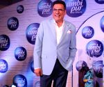 ​ Boman Irani and Neha Dhupia during a product launch