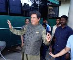 Boman Irani seen at Filmistan Studio