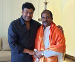 Chiranjeevi meets newly appointed Andhra Pradesh BJP President Somu Weeraraj