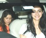 Ananya and Bhavna Pandey seen at Juhu