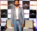 Farhan Akhtar at the launch of Park avenue deodorants