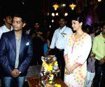 Daisy Shah visits Andhericha Raja