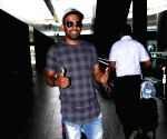 Dharmesh Yelande Spotted At Airport