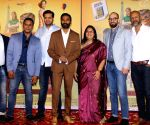 "Film ""The Extraordinary Journey of the Fakir"" trailer launch - Dhanush, Ken Scott"