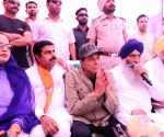 2019 Lok Sabha elections - Actor Dharmendra during poll campaign